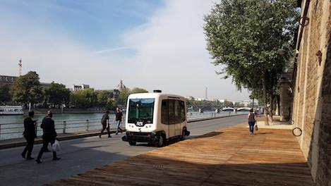 Allianz Worldwide Partners Insures EasyMile Driverless Electric Shuttles