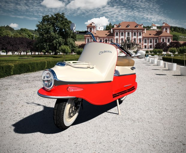 Čezeta Type 506 Electric_For those who live a life less ordinary