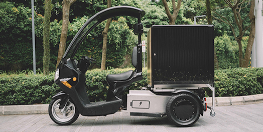 SingPost and TUMCREATE launch trial of electric vehicle for last mile connectivity for logistics