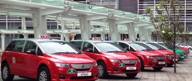 BYD Shares its Sustainable Urban Transport Challenges in the Hong Kong Market e6 electric taxis