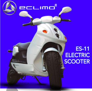 """Eclimo electric scooter personal mobility device"