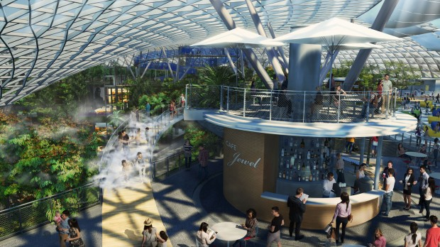 Singapore Changi Airport Unveils Canopy Park At Jewel Outdoor dining with a difference CapitaLand Mall