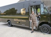 UPS Commits to More Alternative Vehicles Fuel and Renewable Power by 2025 hybrid electric vehicle