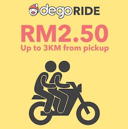 Malaysian Bike Taxi Dego Ride-hailing Set to Return urban mobility last mile connectivity
