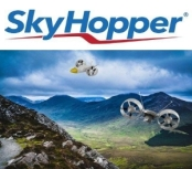 Sky Hopper UAV Electric Drone Capable of Carrying 100kg future urban logistic rural sustainable unmanned aerial electric vehicle