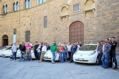 Taxi drivers choose Nissan LEAF in Italy sustainable urban mobility electric vehicle car