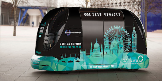 The GATEway project announces the next phase of driverless pod trials autonomous electric vehicle urban mobility