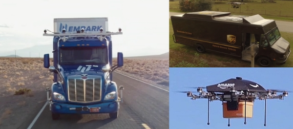 Use of Autonomous Vehicles and Delivery Drones Expected to Rise in Transportation Industry