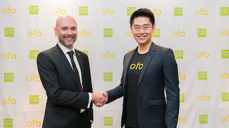 Bike Sharing ofo Partners C40 to Tackle Climate Change sustainable personal urban mobility