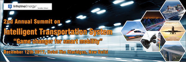 2nd Intelligent Transportation System ITS India Summit 2017 urban mobility smart city