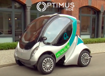 Boston-based Autonomous Vehicle Developer Optimus Ride gets Series A Funding urban mobility