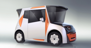 CHTC And Chris Bangle Redefines Electric City Car with REDS electric vehicle urban mobility