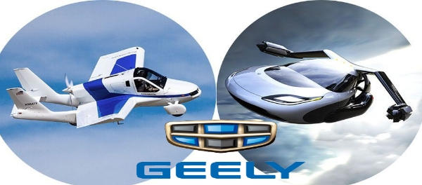 Geely will be Joining the League of Players in Urban Air Mobility acquire Flying Car Startup Terrafugia urban air mobility Proton Volvo owner