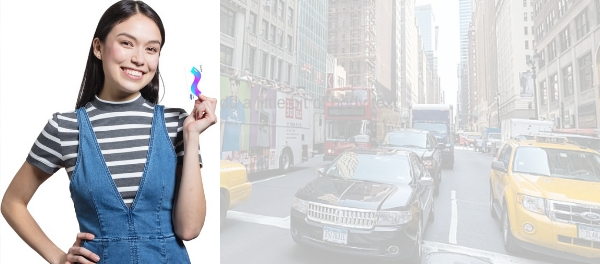 Teens are using Ride-sharing And Public Transportation to Get Around Uber Lyft hailing urban mobility