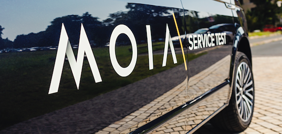 VW Startup MOIA Presents World First Electric Ride hailing sharing Six Seater Car Van shuttle sustainable urban mobility