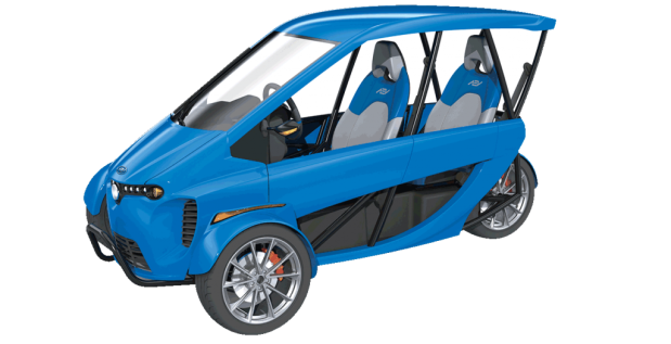 AEV Technologies Unveils New Electric Vehicle Lineup At CES 2018 311 2 seat electric car vehicle EV