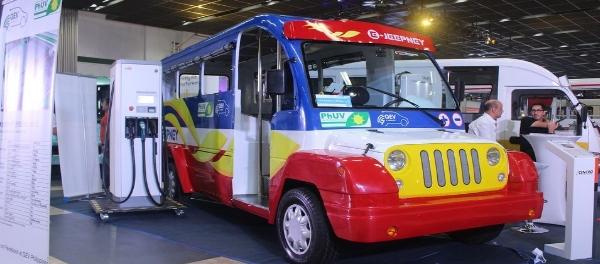 EVAP to Provide EV Solutions to DOTr Jeepney Modernization Program electric jeepney sustainable urban mobility