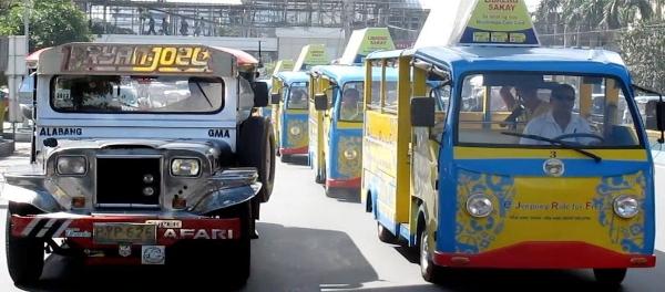 EVAP to Provide EV Solutions to DOTr Jeepney Modernization Program old jeepney